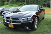 Bear Mountain Cruise Night 6/27/2012 - This is my car parked on the show field. It is a 2012 Dodge Charger R/T Plus in Blackberry Pearl. It has a 5.7 liter V8 hemi engine with 5-speed automatic transmission. Unfortunately Dodge does not offer the Charger with a manual transmission or I would have gotten it.