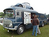 The Ecurie Ecosse transporter