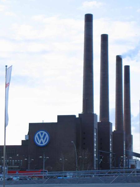 VW factory at Wolfsburg