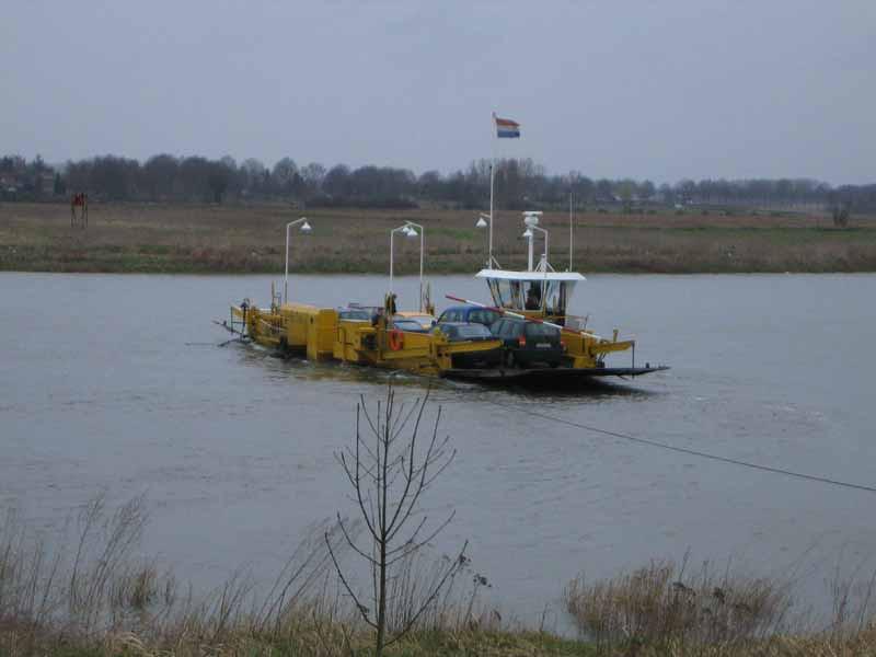 Dutch ferry, avoiding the E15 gridlock