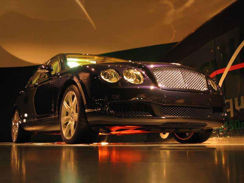 Bentley pavilion