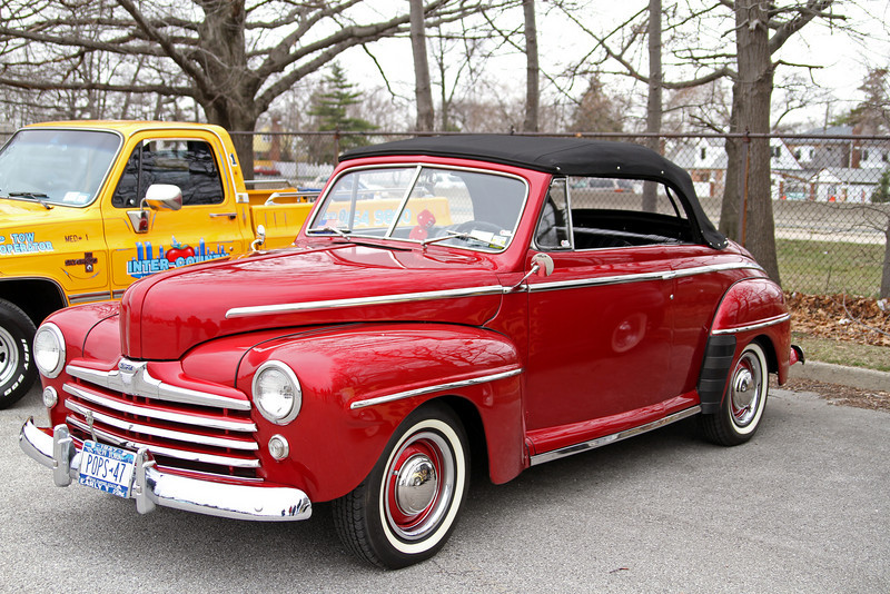 A nice 1947 Ford flathead V8
