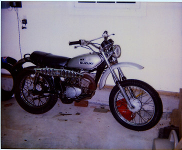 My old bikes - Polaroid scans
