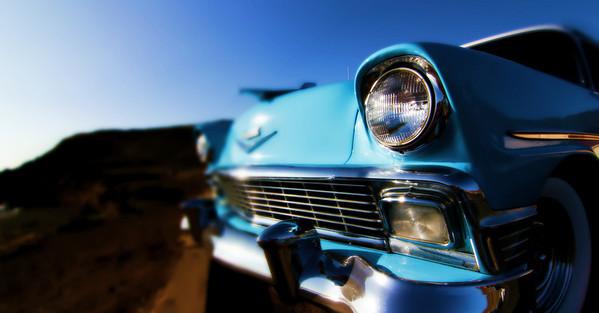 Bill & Lacy's '56 Chevy Beachmobile