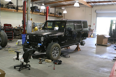 Black Jeep Build
