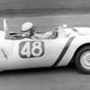 """Kay Hier at Virginia International Raceway, April 1963 SCCA Nationals.<br /> Photo by Gerald Eckstein from <br /> <a href=""""http://www.virhistory.com/vir/63-apr/ge-63-pix.htm"""">http://www.virhistory.com/vir/63-apr/ge-63-pix.htm</a>"""