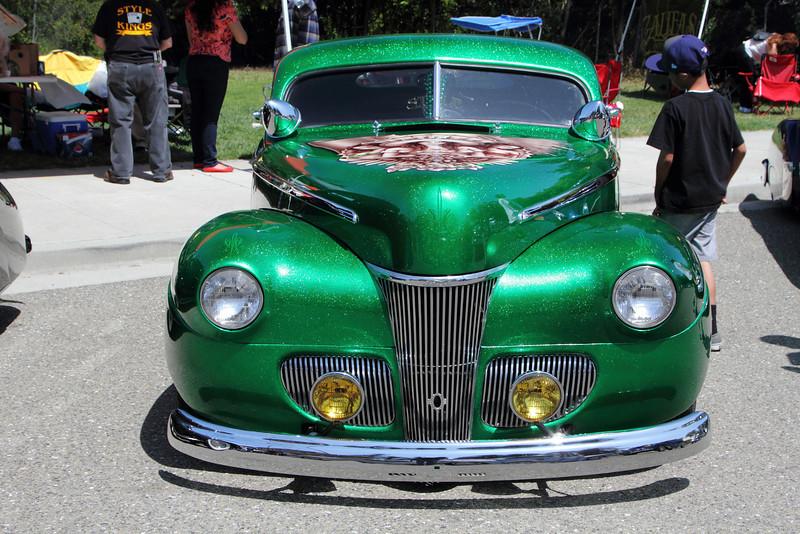 everyone likes emerald metal flake :)
