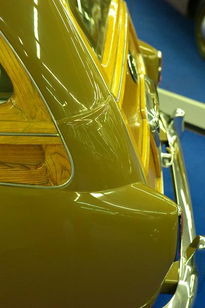 woody rear lights and bodywork