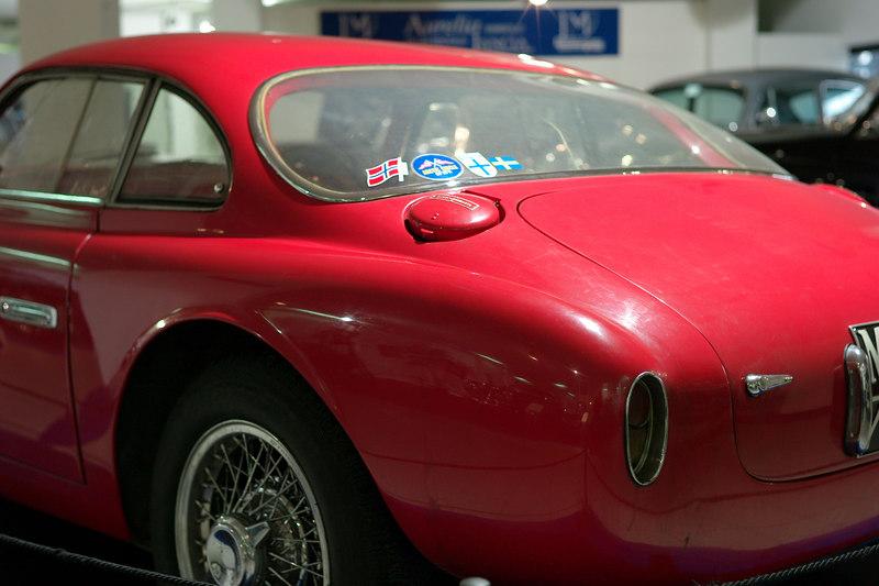 rear view Vignale