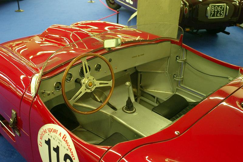 detail of racer