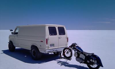 Bonneville Salt Flats, Speed Week, August, 2011