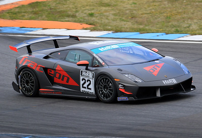 Philippe Kiener (SUI) shortly before his horror crash with his Lamborghini Supertrofeo.
