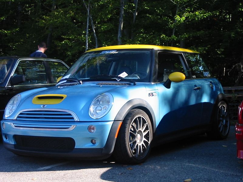 Mini Cooper S with all of the TMS goodies