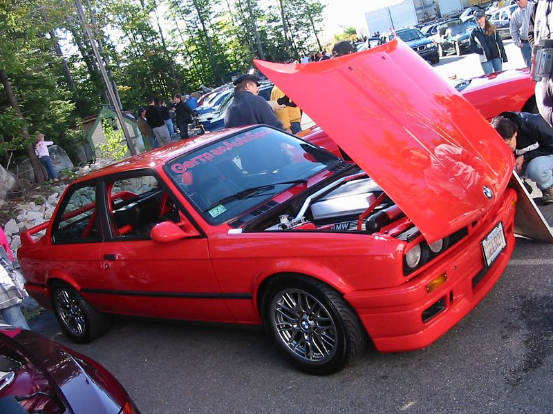 E30 340is. Damon from German Autosport. 4.0-liter V8 with too much else to list.