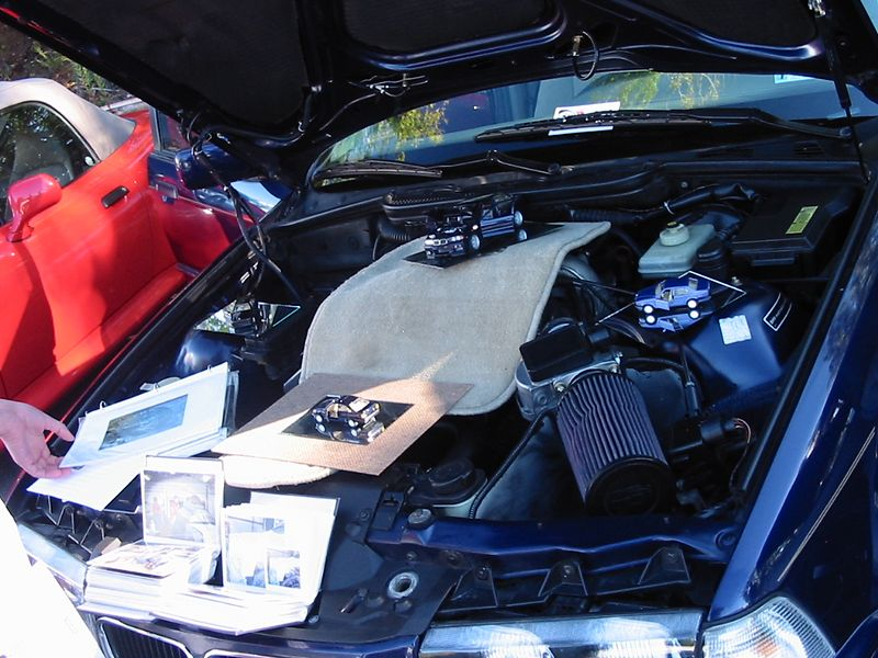 E36 with way too much going on under the hood.