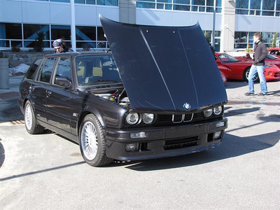 2009/2. BMW E30 325i Touring with an M50 conversion.