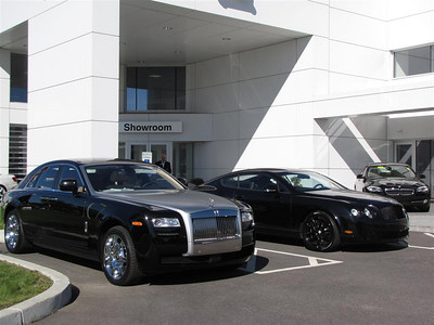 2010/9. Rolls-Royce Phantom & Bentley Continental GT