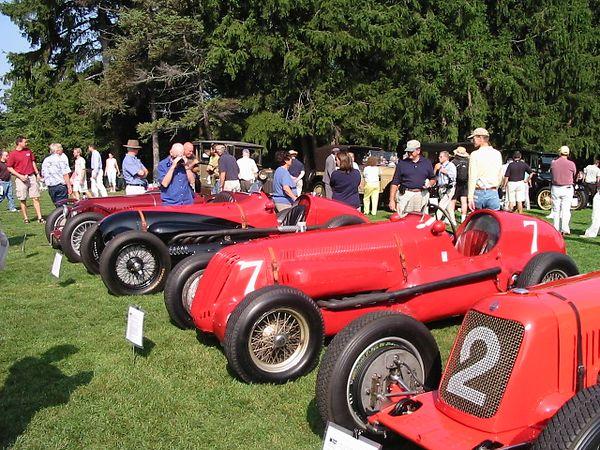 Maserati Grand Prix racecars