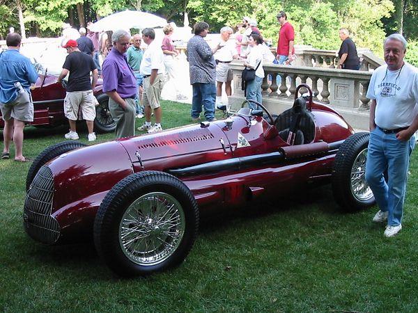 Alfa Romeo Type 159 Grand Prix racer