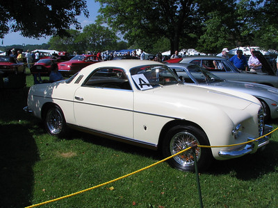 """Alfa Romeo 1900C Supergioiello (""""Super Jewell""""). A very rare and important Ghia-built custom. This is one of 5 known to survive from 18 originally built.  For a very cool story on a similar car (located less than an hour from me!), click here:  http://www.velocissima.com/Newsletters/2000/08/mystery.htm"""