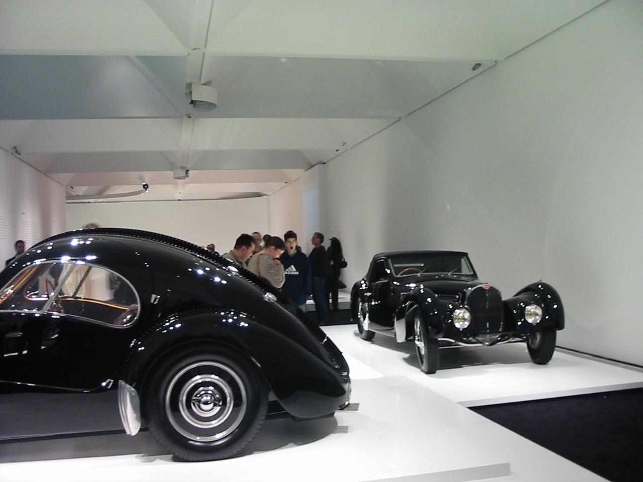Bugatti T57 Altantic and T57 Gangloff