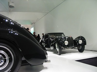 Bugatti T57 Altantic and T57 Gangloff