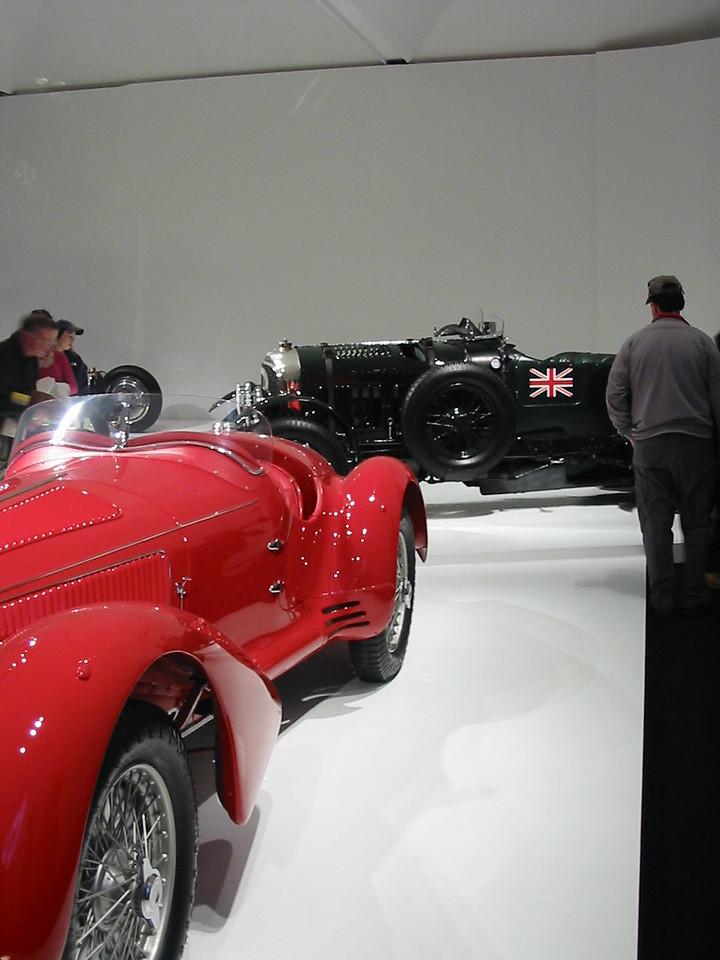 Alfa Romeo 8C2900 Mille Miglia and Bentley Blower