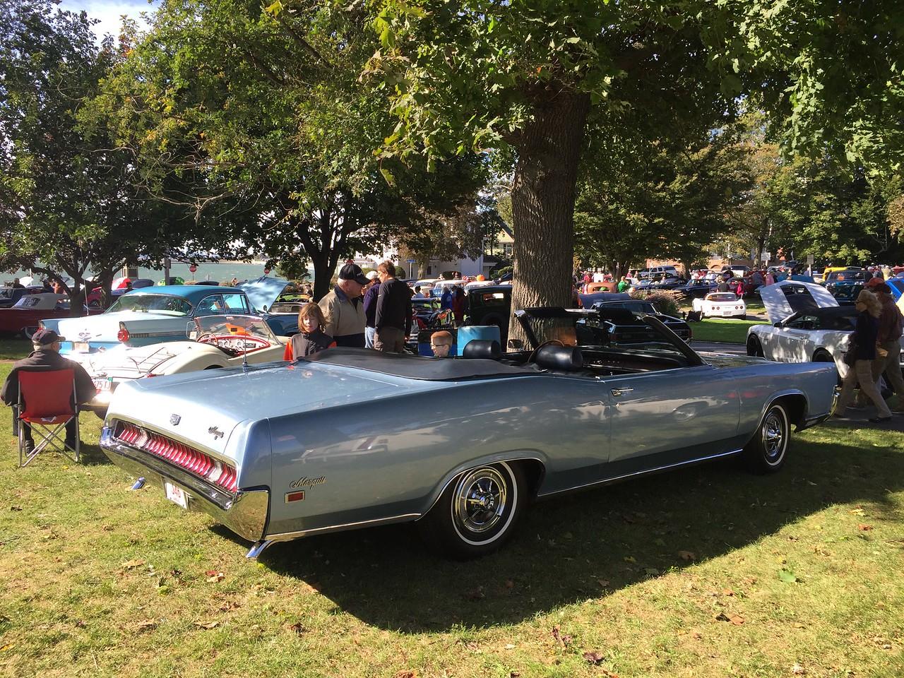 Mercury Marquis. Longest car at the show?