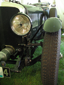 Bentley Speed Six (1929) - a 'Blower Bentley'. Too big to fit in the frame.
