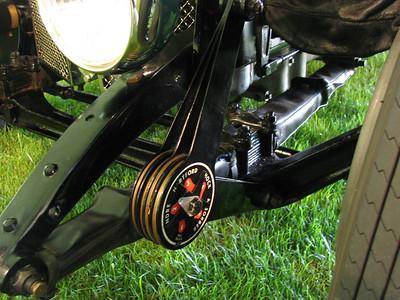 Bentley 4.5 Litre (1928) front suspension