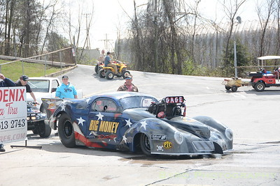 Brainerd Optimist Drag Strip--Heads Up March 2015