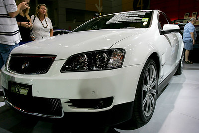 Brisbane International Motor Show, 2 February 2008