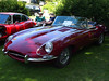 1969 Jaguar E-Type (XK-E) at the British Car Day at Larz Andersen Auto Museum in Brookline, MA on June 24, 2012