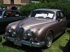 1963 Jaguar Mk II at the British Car Day at Larz Andersen Auto Museum in Brookline, MA on June 24, 2012