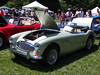 Austin Healey 3000 MK III at the British Car Day at Larz Andersen Auto Museum in Brookline, MA on June 24, 2012