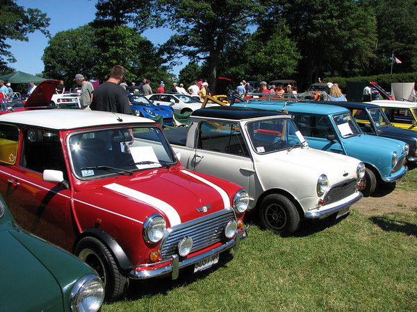 British Car Day at Larz Anderson Museum