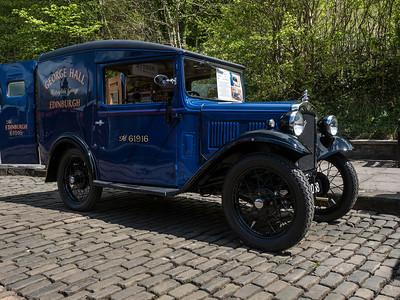 1935 Austin 7 AVH Van