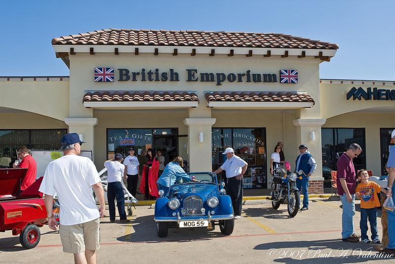 British Emporium Fall Car Show 10-28-07