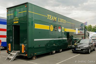 Brno GP Revival - paddock