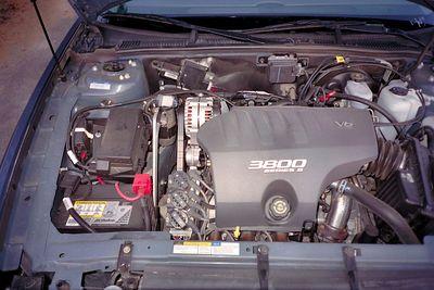 Standaard V6 3.8 liter motor