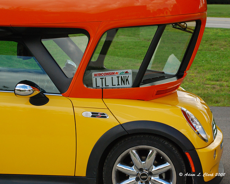 Cocktail Weinermobile - A Mini Cooper converted into a small Weinermobile