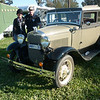 John and Kate from Streaky Bay  with their 1930 Victoria