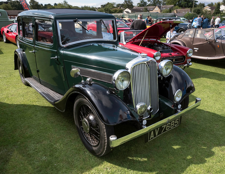 1935 Rover 12 Six Light Saloon