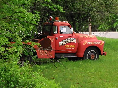 Ponderosa Salvage and Towing. You tow them.