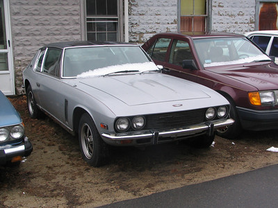 Jensen Interceptor III at Frenchie's Garage, Essex, MA
