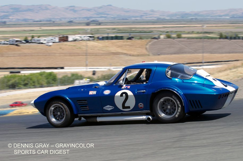 # 2 - 1963 FIA GS 003 Larry Bowman  in ex Foyt, Cannon at Sonoma 2013 02
