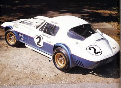 # 2 - 1963 FIA GS 005 Bill Tower display
