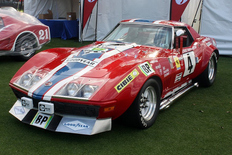 # 4 - 1969 Le Mans, Mike Yager ex Bob Johnson & Marietta Bob Johnson N A R T  at Amelia Island 2015