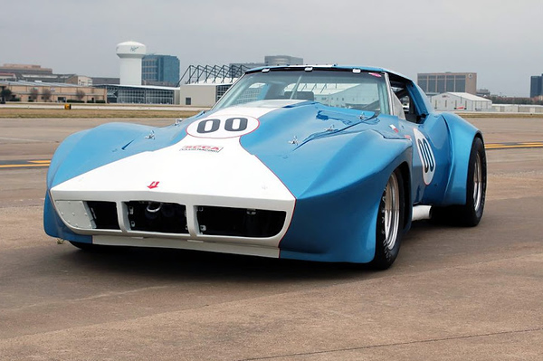 # 00 - 1969 IMSA Hendricks Collection ex Hoffman-Neighbor SCCA AP built to CVAR specs tribute car for Delmo Johnson at Ft Worth airfield 2010
