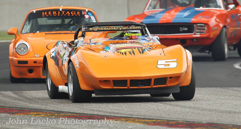 # 5 - 1969 SCCA BP, Travis Pfrang ex Jim Herlinger, Trace Gordon at the HAWK 2015 01